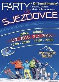 Pozvánka na párty i na lyže