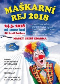 Pozvánka na karneval a velikonoční lyžování